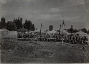 8.Korpsbäckerei in Perehinsko Ost Galizien August 16