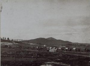 Futterfassungsstelle Perehinsko im November 1916