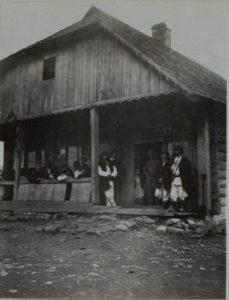 Gemeindeamt in Perehinsko, Februar 1916