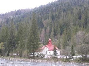 Церква біля р. Лямниця