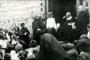 """29 липня 1935 року митрополит Андрей Шептицький святкував своє 70-ліття у """"Кедрових Палатах"""" на Прикарпатті 5"""