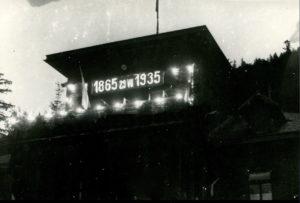 """29 липня 1935 року митрополит Андрей Шептицький святкував своє 70-ліття у """"Кедрових Палатах"""" на Прикарпатті 1"""
