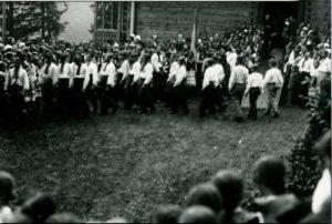 """29 липня 1935 року митрополит Андрей Шептицький святкував своє 70-ліття у """"Кедрових Палатах"""" на Прикарпатті 6"""
