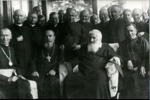 """29 липня 1935 року митрополит Андрей Шептицький святкував своє 70-ліття у """"Кедрових Палатах"""" на Прикарпатті 2"""
